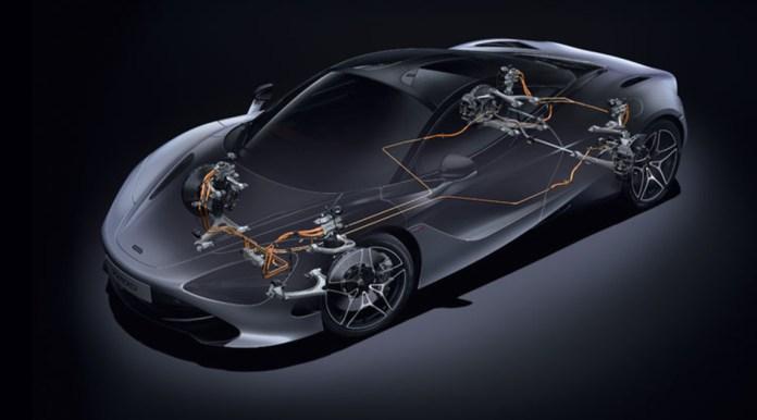 McLaren 720 S scheletro