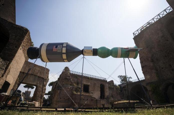 Mostra Roma Arte contemporanea sul Palatino