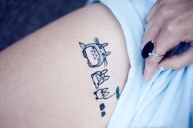 tatuaggi piccoli femminili Totoro