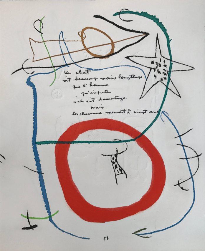 Joan Mirò Mostra Milano