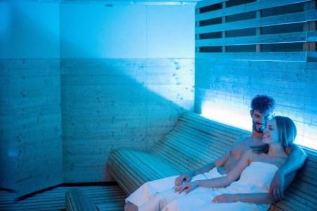 Coppia sauna - Borgobrufa Spa Resort