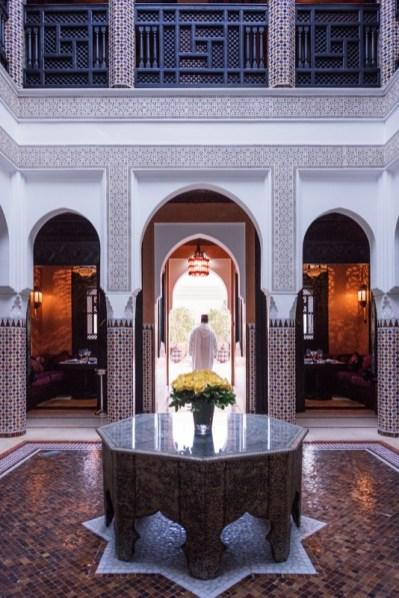 Moroccan Restaurant La Mamounia 2016