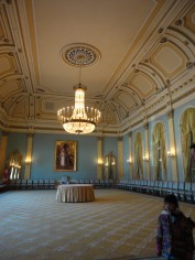 Grand Ballroom, this is were state dinners are held and awarding of medals