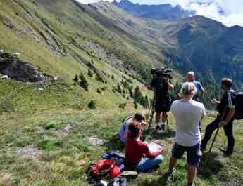 Filmando la protezione del bestiame in Austria e in Italia