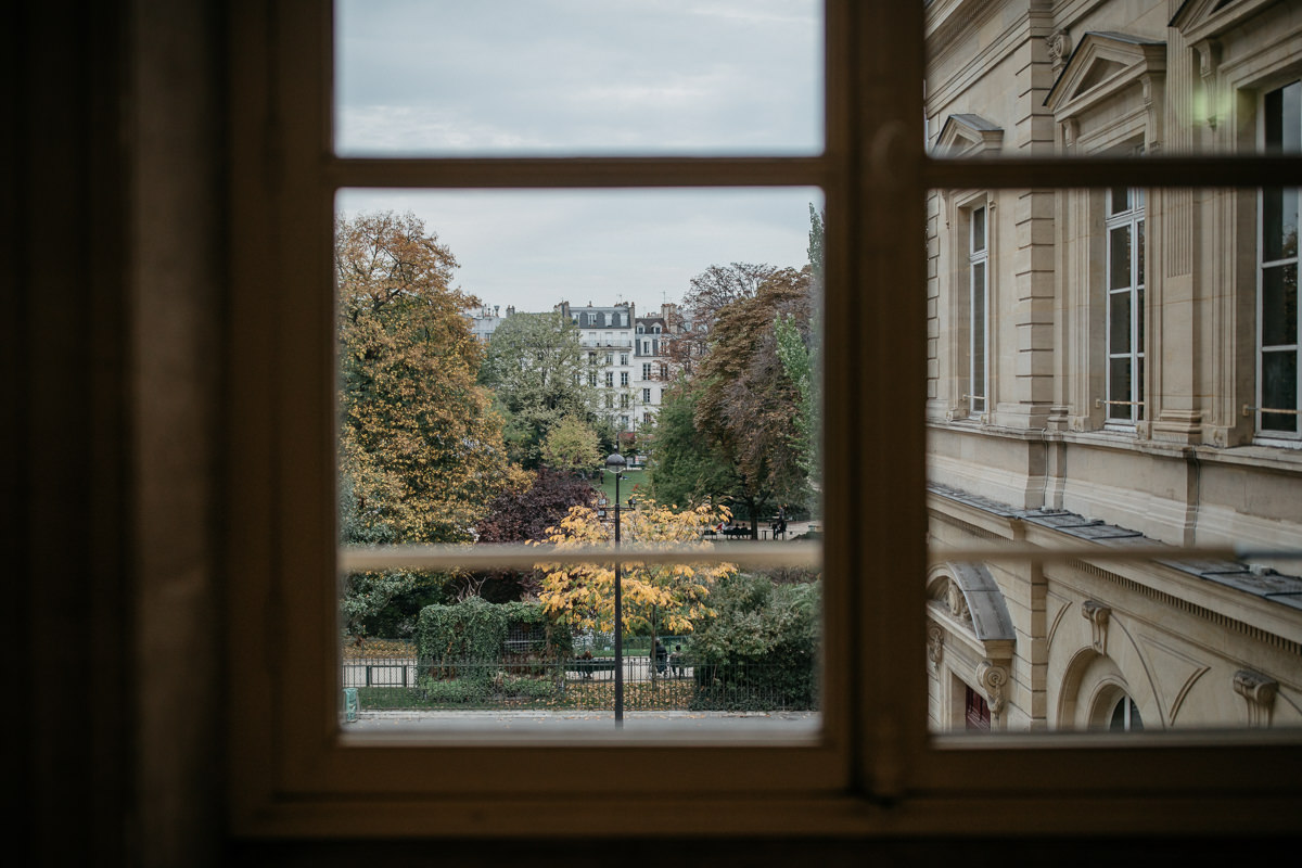 Paris from inside