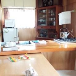 1階のキッチン