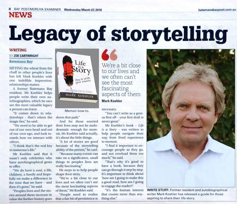 Legacy Of Storytelling