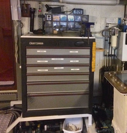 New tool chest