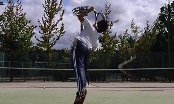 テニス サーブ フラット フォーム