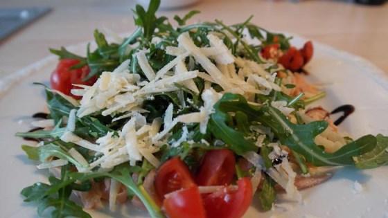lachscarpaccio ruccola frühlingssalat