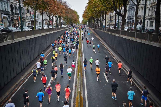 Sponsorenlauf Lauftraining Laufen