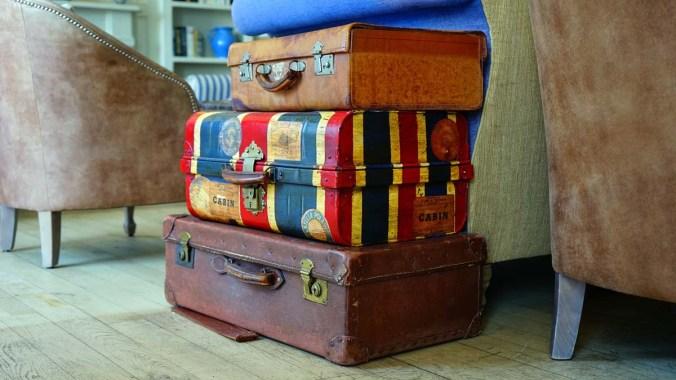 Koffer Verreisen Gepäck