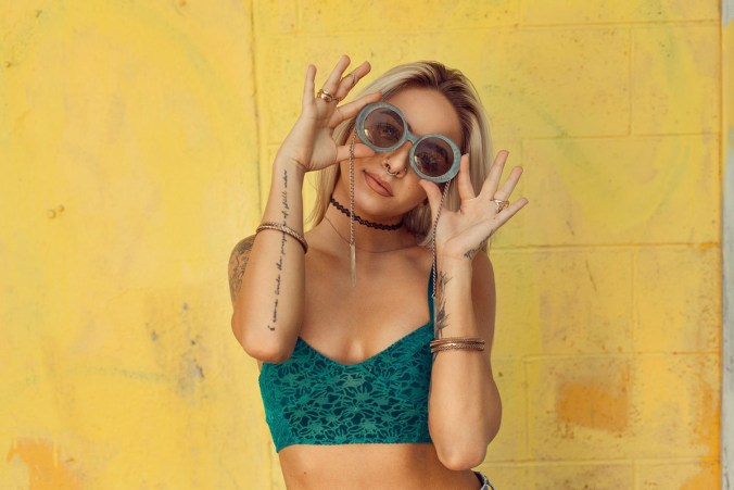 Hippie Croptop Sonnenbrille