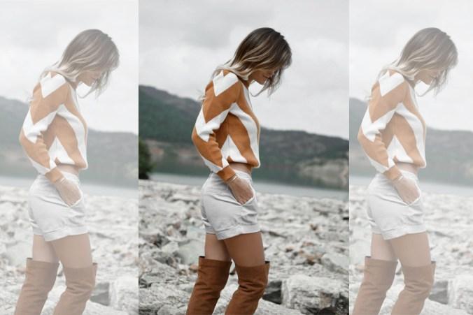 Overknees Shorts Pullover