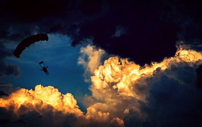 Gleitschirmfliegen Sport Wolken