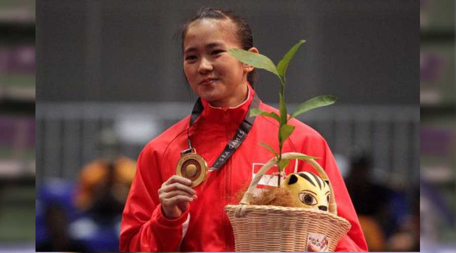 Sosok Felda Elvira Santoso Sang Atlet Wushu Asian Games 2018
