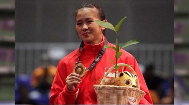 Felda Elvira Santoso atlet wushu Asian Games 2018