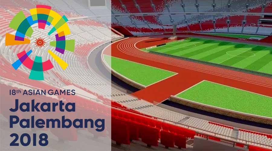 GBK Palembang Asian Games 2018 Mempercantik Diri