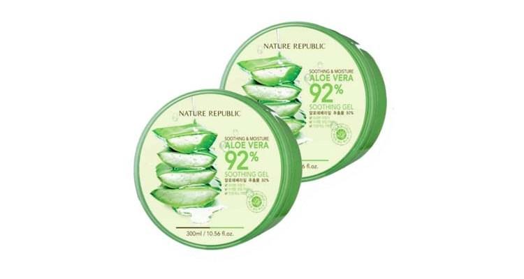 Review Nature Republic Aloe Vera 92% Soothing Gel, Skin Care yang Banyak Digandrungi Masyarakat