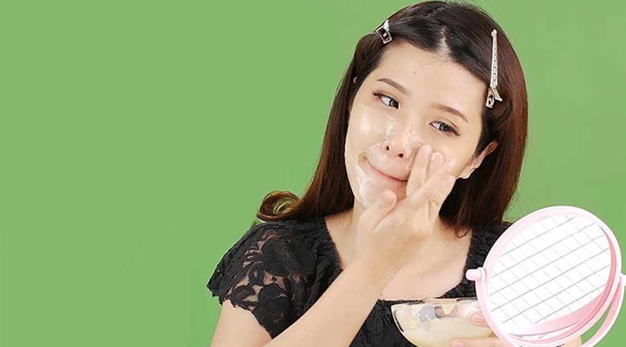 manfaat masker susu dancow