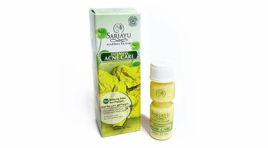 produk sariayu untuk kulit berjerawat