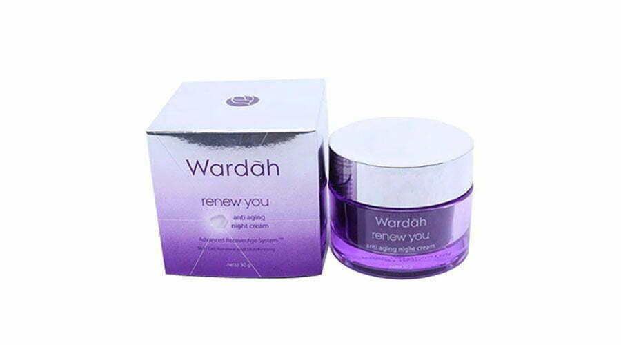 Produk Wardah Night Cream untuk Kulit Berjerawat Terbaik