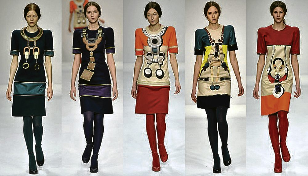 Fashion school confidential   Inquirer Lifestyle MARY Katranzou s 2008 Collection for her Central St  Martin s Graduation  Show  HTTP   GIRLDIR COM