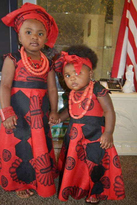 cute ankara styles for babies & toddlers (27)