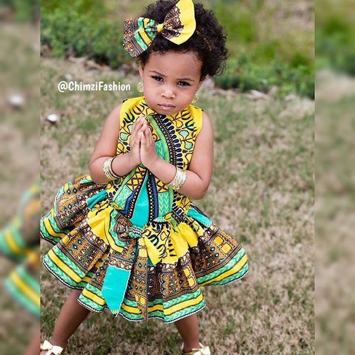cute ankara styles for babies & toddlers (41)