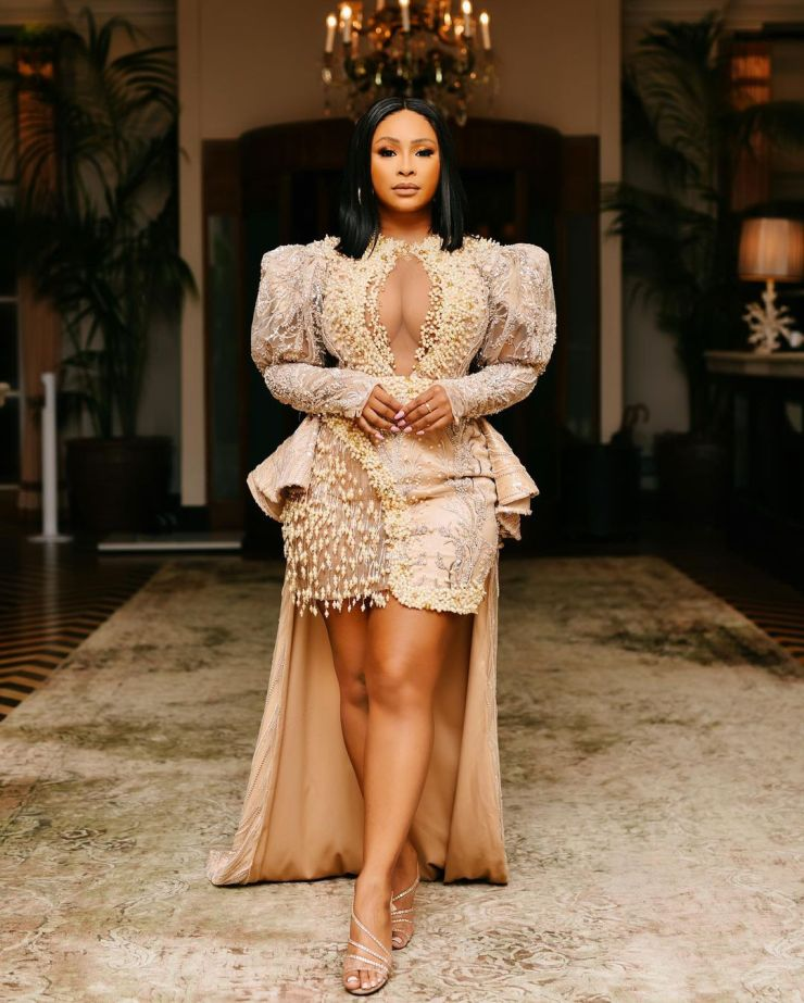 Boity Thulo- Classy Party Outfit