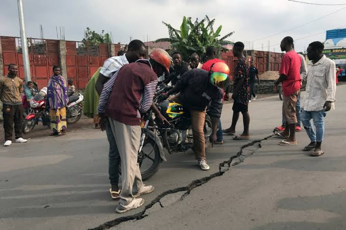 Democratic Republic of Congo hit with 61 earthquakes in a day following volcano eruption