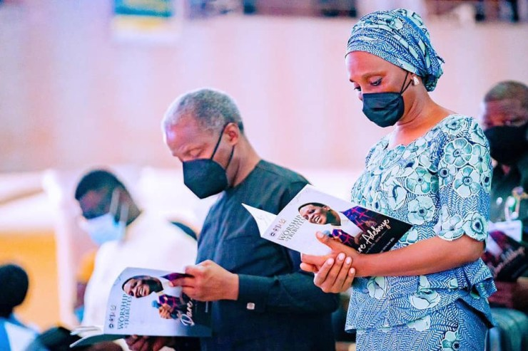 Osinbajo, others attend evening of Worship and Tribute for Pastor Dare Adeboye (photos)