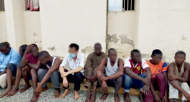 Three security personnel arrested for vandalizing sections of railways in Nasarawa