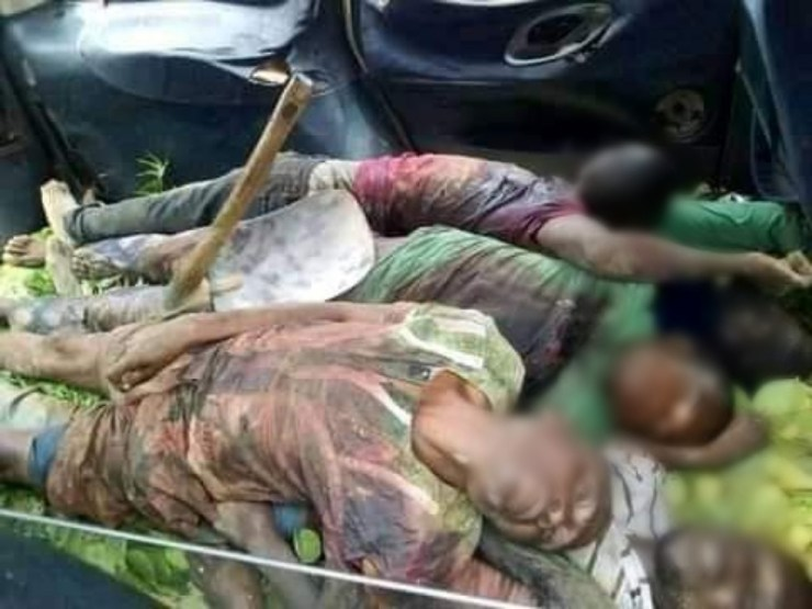 5 farmers killed as suspected Fulani herdsmen invade Benue community (graphic photos)
