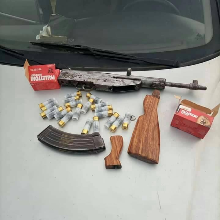 Police arrest notorious gunrunner in Kaduna, recover weapons (photos)
