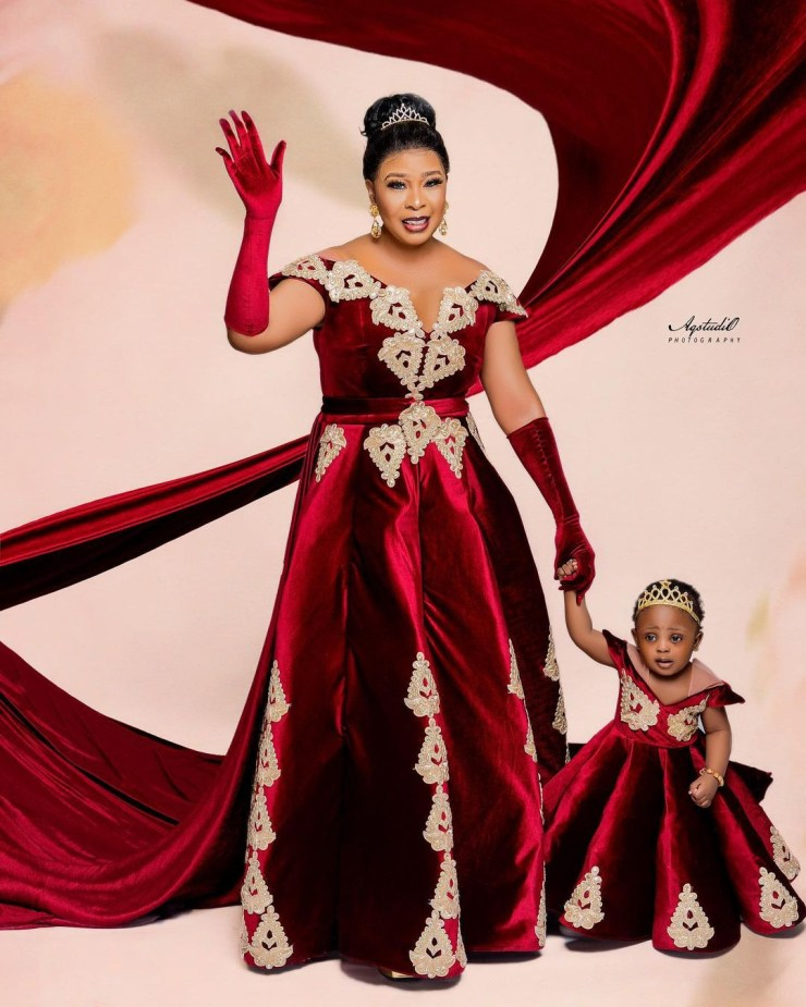 Actress Tricia Esiegbe-Kerry shares lovely photos of herself and her daughter as they celebrate their birthday