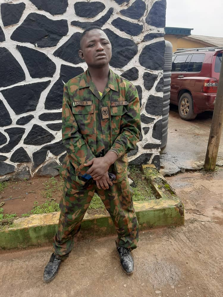 Suspected kidnapper of military personnel arrested in Ogun