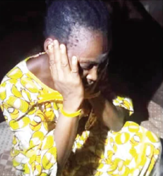 Woman arrested after allegedly locking up five-year-old nephew for 6 months in Lagos