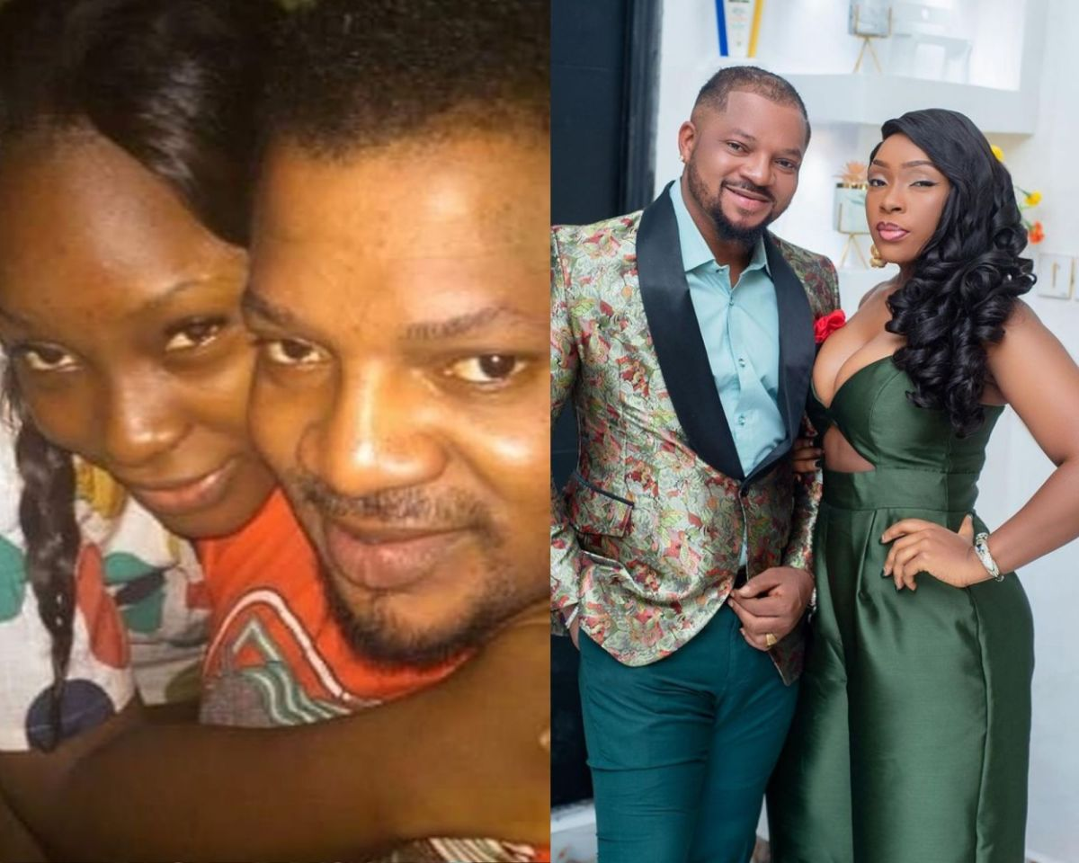 Actor, Walter Anga dazzles with wife on their 12th wedding anniversary (photos)