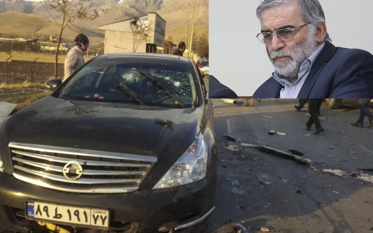 Israel reportedly used a remote-controlled gun to assassinate?Iran