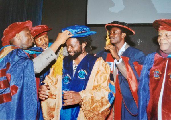 Beautiful Nubia gets PhD award