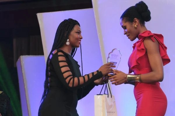 Somkele Iyamah wins for best actress