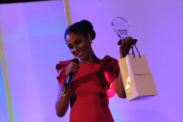 Somkele Iyamah wins for best actress
