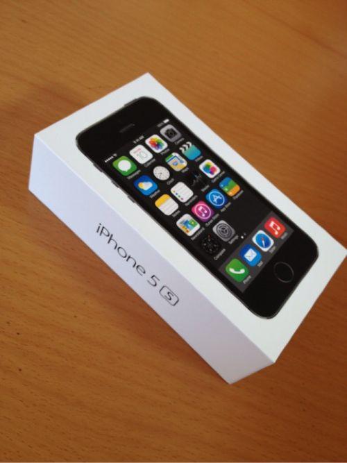 au版iPhone5sのスペースグレー32GBをGET!開封の儀から初期設定まで