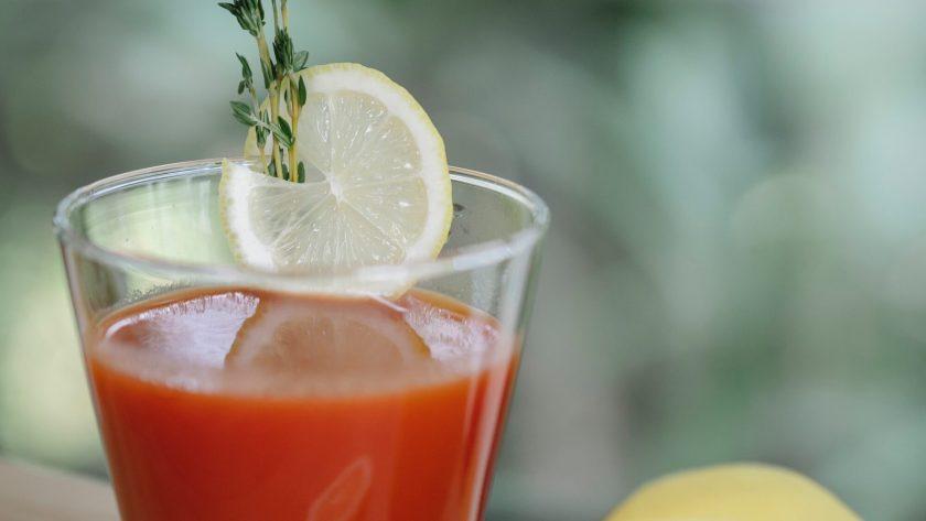 tomato juice health benefits