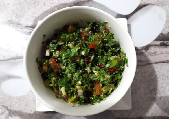 tabbouleh salad - lunch ideas