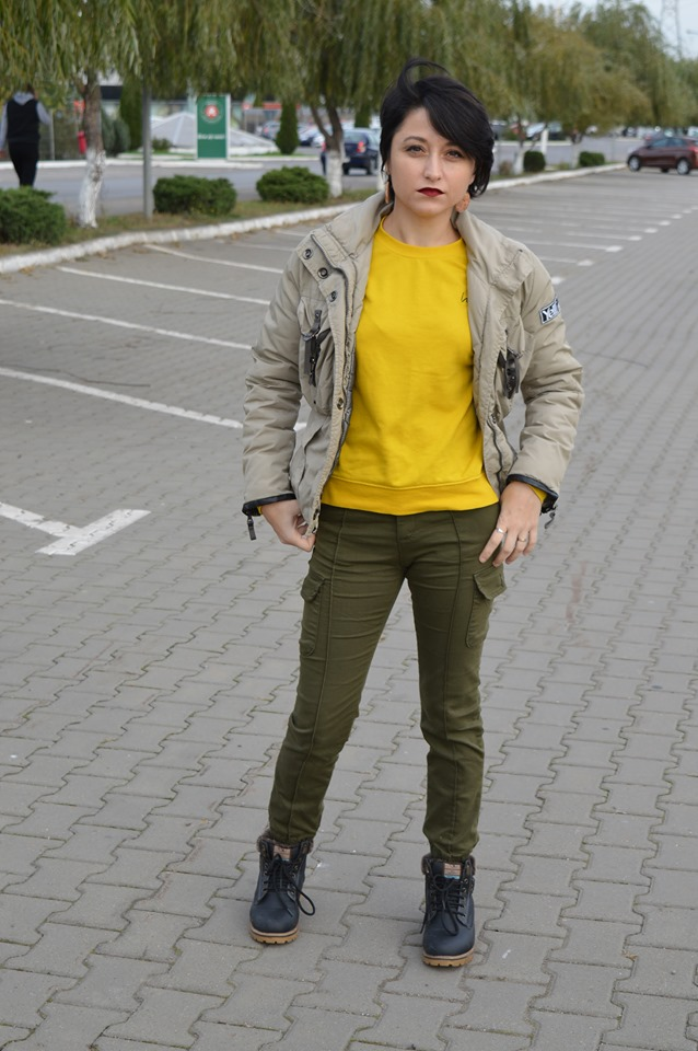 cargo trousers Femme Luxe