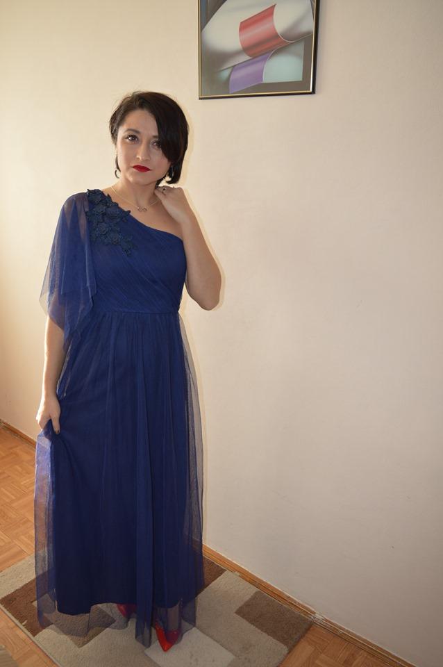 rochie albastră Ever Pretty