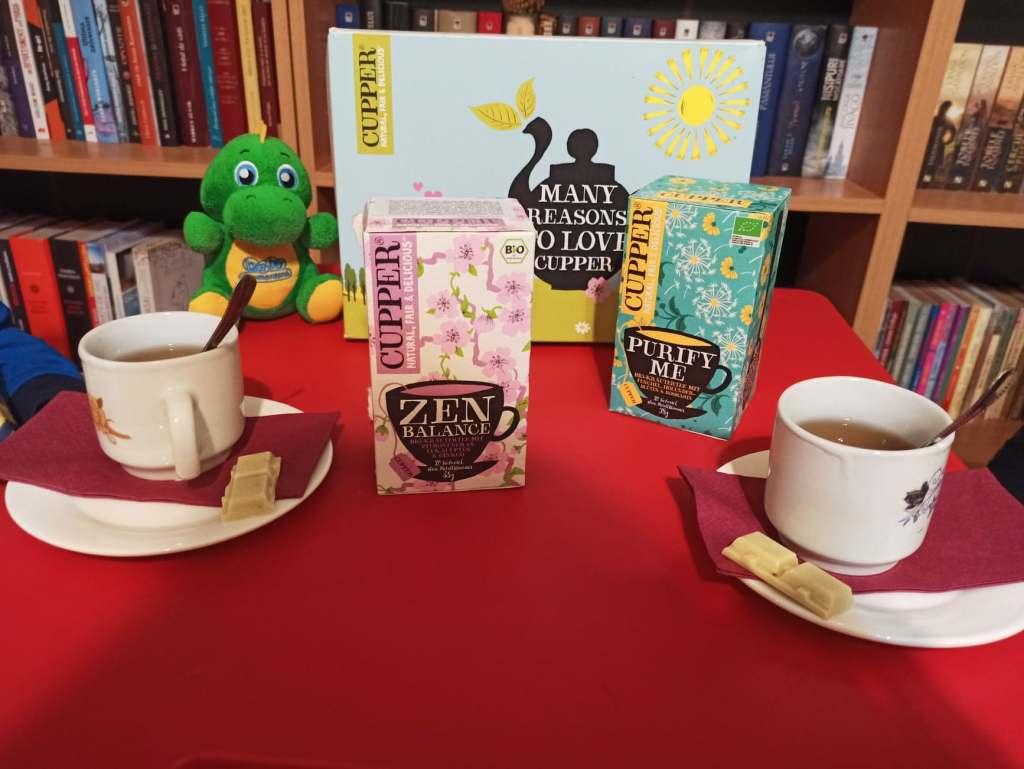 Petrecere cu ceai bio Cupper