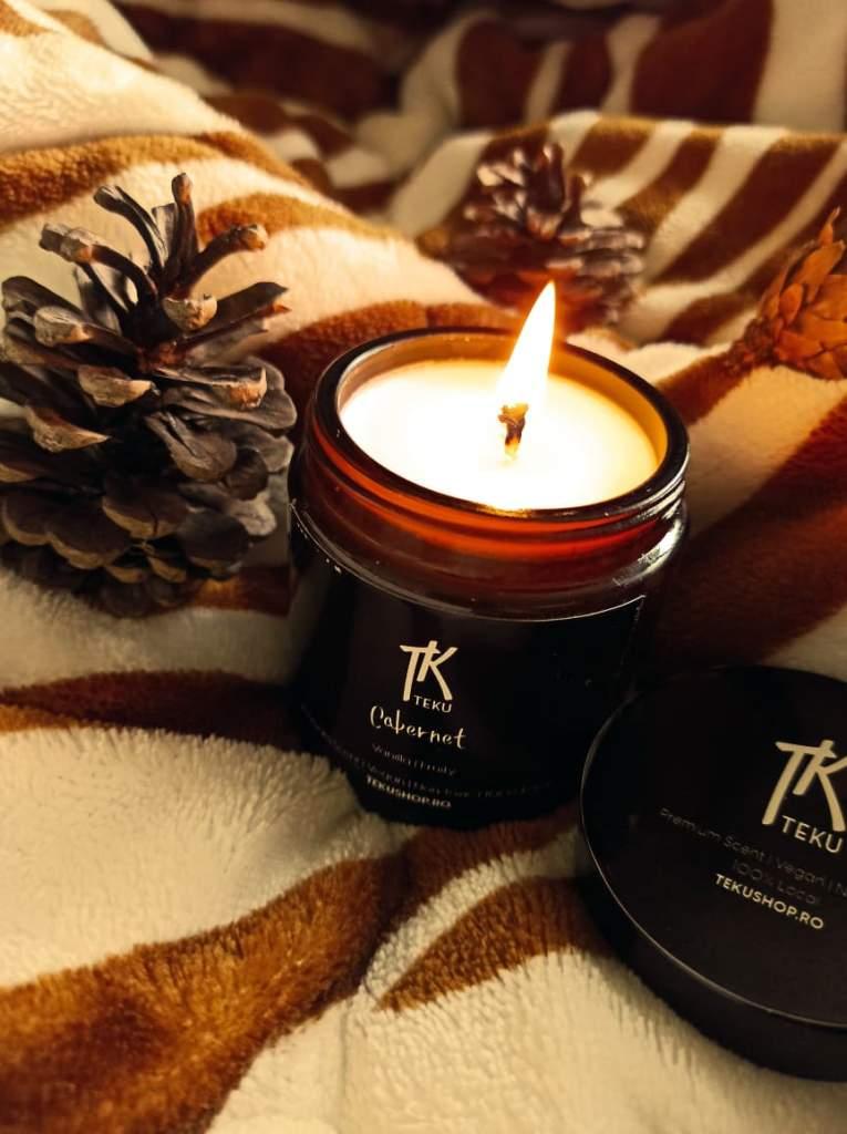 lumânări parfumate handmade